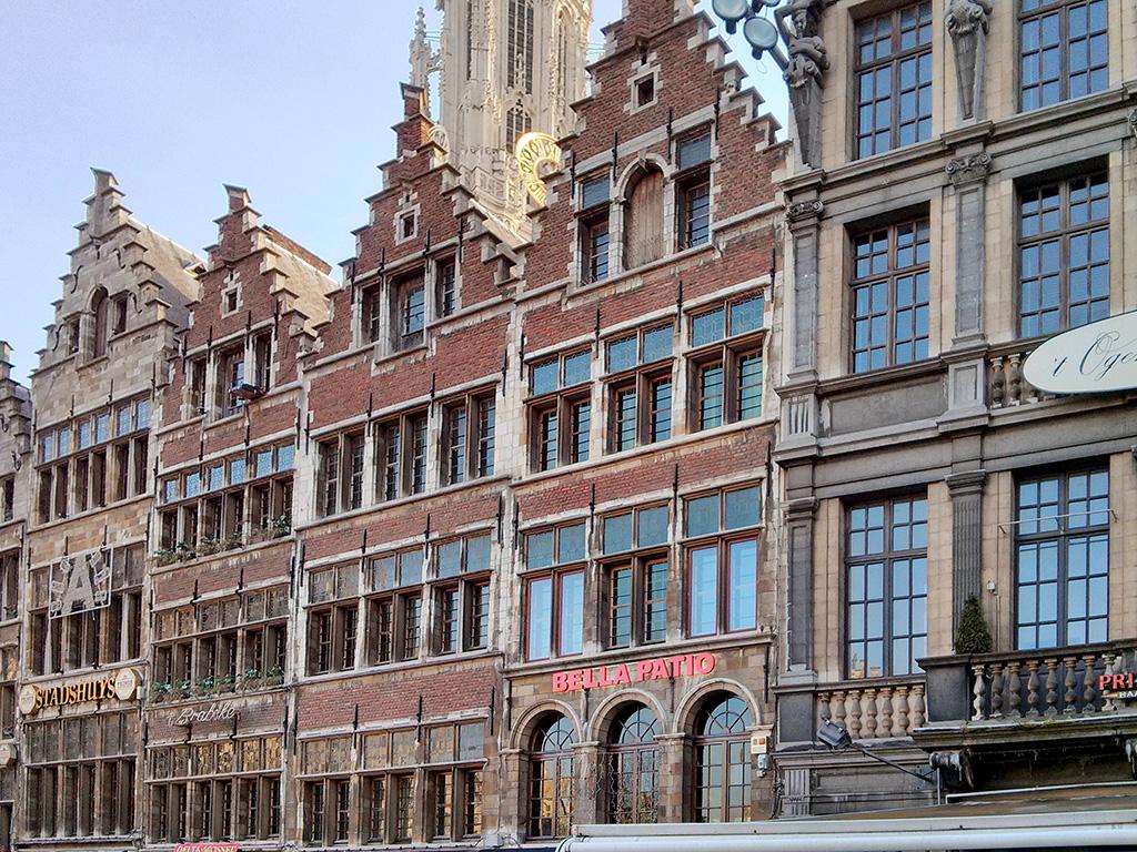 Rapid sightseeing in: Antwerp